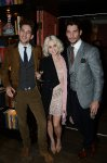 Max Rogers, Kimberly Wyatt, and David Gandy