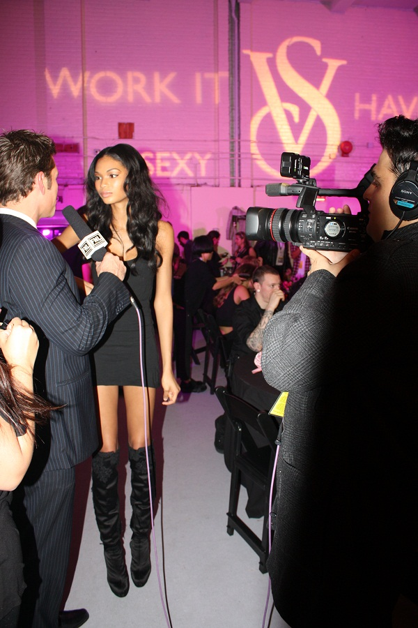 Backstage at the Victoria's Secret 2009 Fashion Show. Photo Credit: Kristen Colapinto