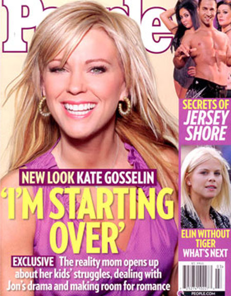 Kate Gosselyn on cover of People Magazine
