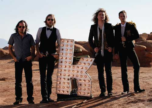 'The Killers' rock band