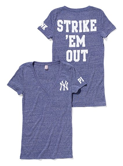 New York Yankees V-Neck for Women