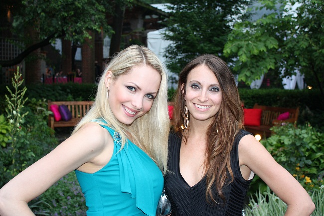 Maria Helena Vianna and Kristen Colapinto (Me)