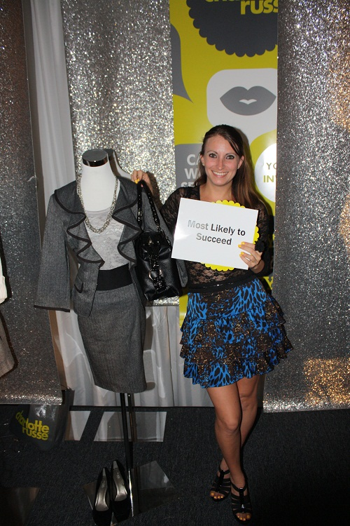 Kristen Colapinto at Project Mannequin for Charlotte Russe