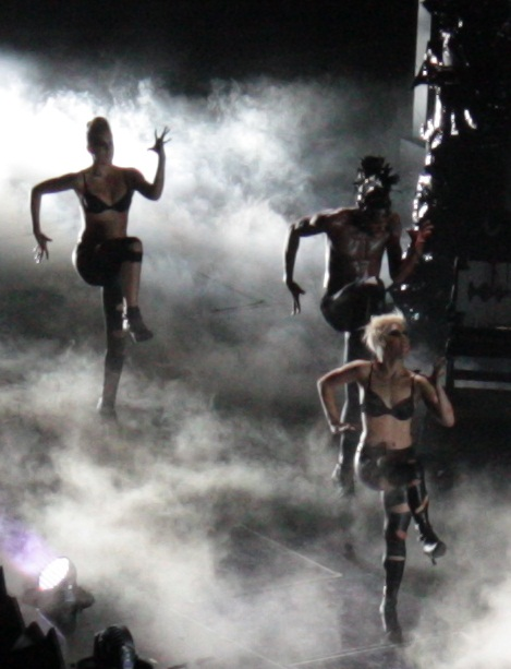 Lady Gaga Concert Pictures