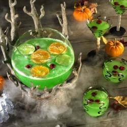 Spooky Halloween Green Punch