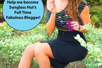 Vote for me as the Full Time Fabulous Blogger for Sunglass Hut