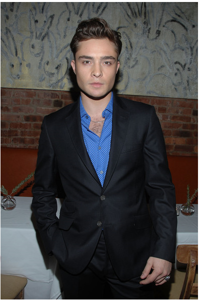 Gossip Girl hottie, Ed Westwick