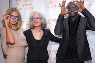 Heidi Klum and Seal at the Worldwide Orphans Foundation Sixth Annual Benefit Gala