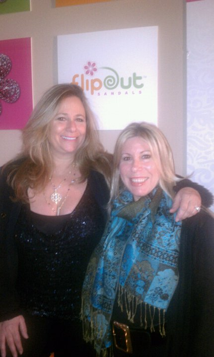 FlipOut Sandals Founders Tracey Hunter and Cheryl Hamersmith-Stewart