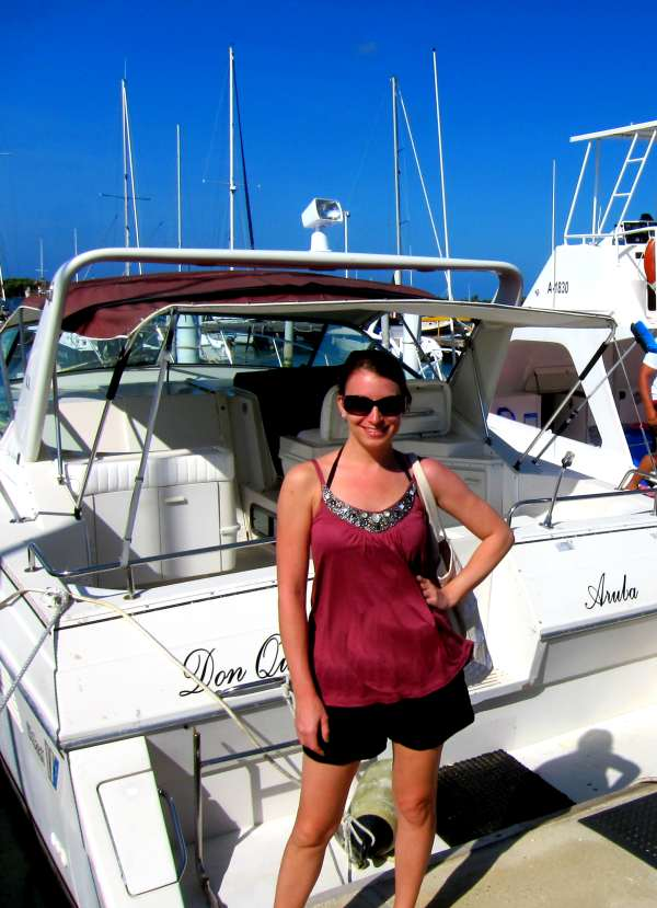 Kristen Colapinto in Aruba