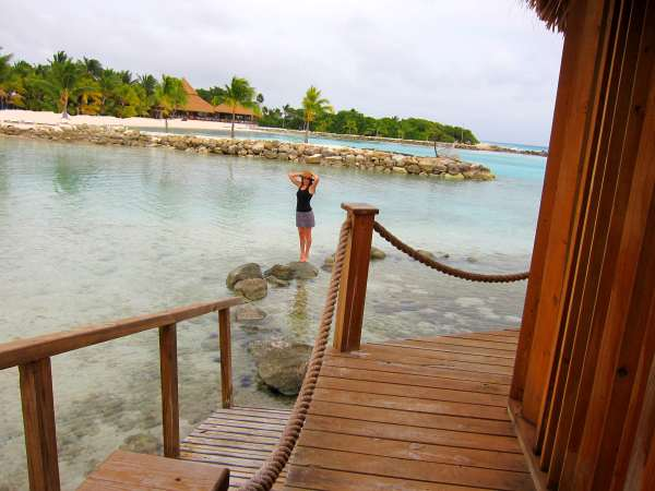Kristen Colapinto at Spa Cove on Aruba's Renaissance Island