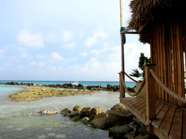 Spa Cove on Aruba's Renaissance Island