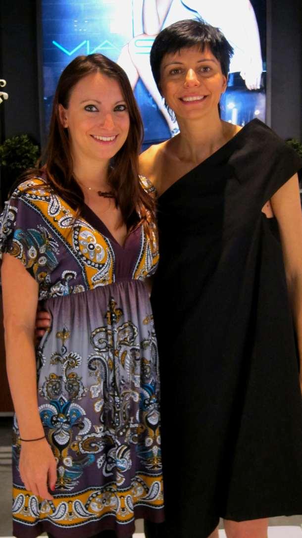 Kristen Colapinto and Paola Venturi