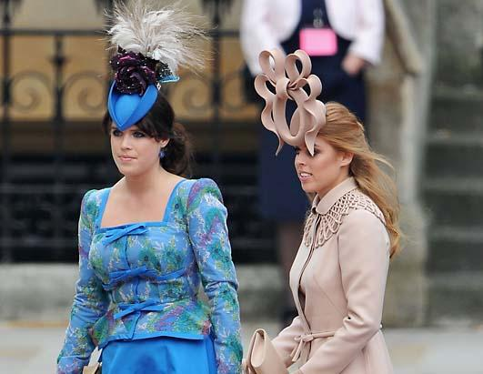 Philip Treacy hats at the Royal Wedding
