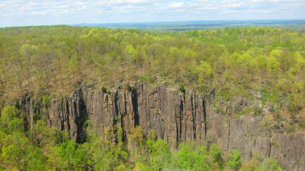 Aerial View of the Palisades