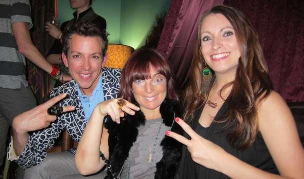 Derek Warburton, Lauren Ruotolo and Kristen Colapinto
