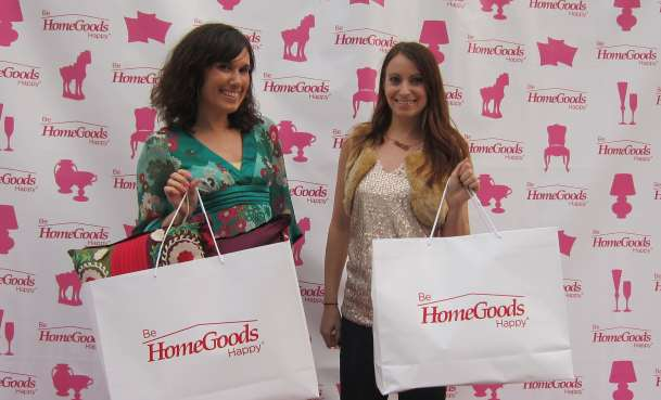 Dana Prigge and Kristen Colapinto At HomeGoods