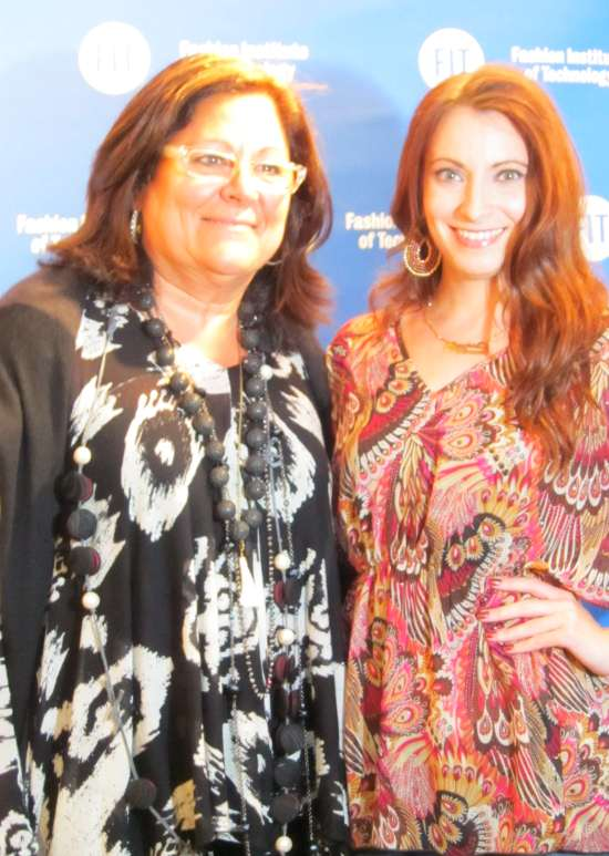Fern Mallis and Kristen Colapinto