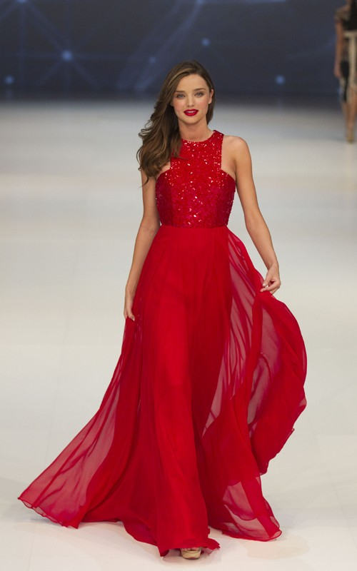 Miranda Kerr Walks In Australia's S/S 2012 David Jones Fashion Show
