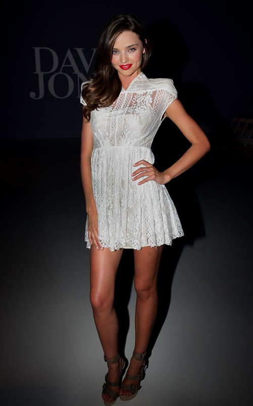 Miranda Kerr Walks In Australia's S/S 2012 David Jones Fashion Show