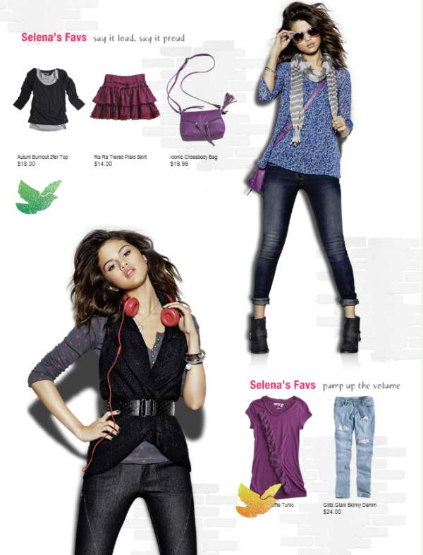 Selena Gomez Kmart