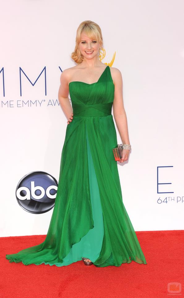 Melissa Rauch attended the Emmys