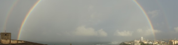 Puerto Rico Double Arched Rainbow Isla Verde-DSC09690