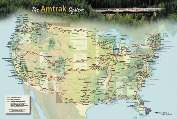 Amtrak Writers Residency Program