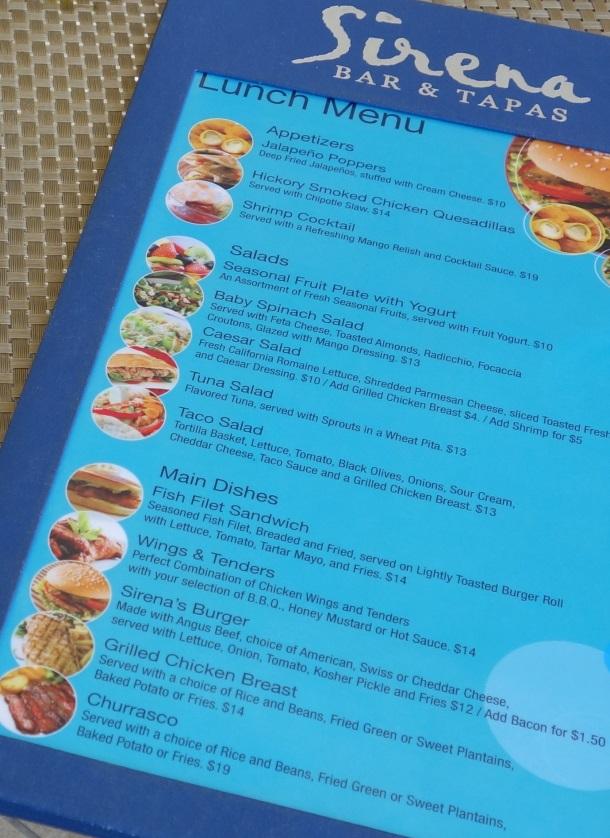 Sirena Restaurant Puerto Rico Courtyard Mariott-DSC05863