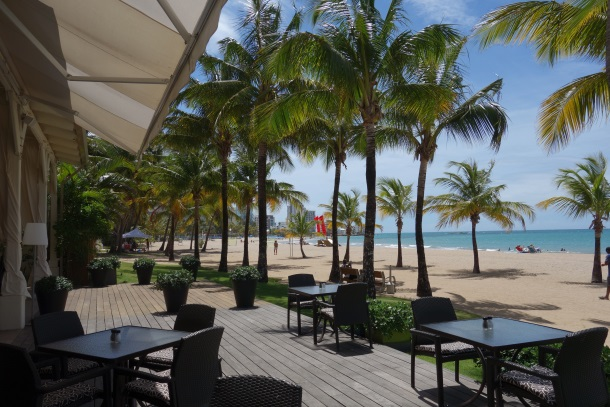 Sirena Restaurant Puerto Rico Courtyard Mariott-DSC05887