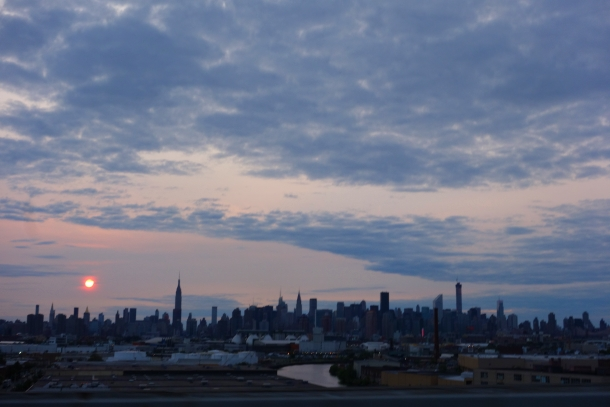 Sunset over New York City-DSC08959