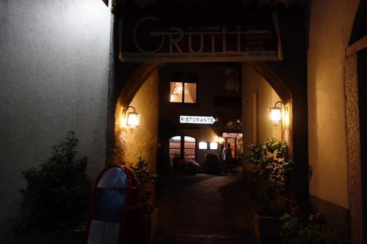 Grutli Pizza in Mendrisio, SwitzerlandDSC02014
