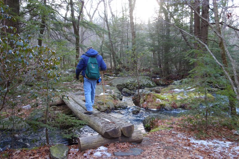 Day Hiking the Appalachian Trail, Connecticut-DSC08537
