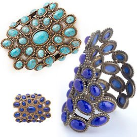Andrew Gn's jeweled cuffs