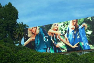 GUCCI Billboard in Los Angeles. Photo Credit: Kristen Colapinto