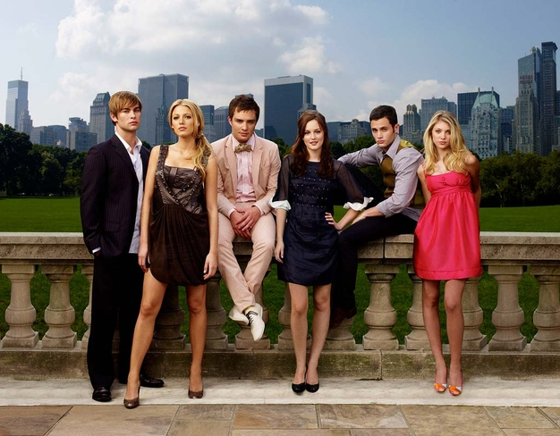 Cast of 'Gossip Girl' in New York