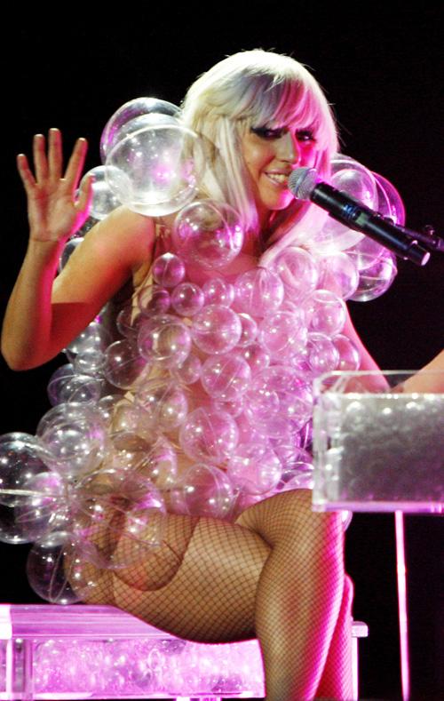 Lady Gaga 'Bubble Dress'