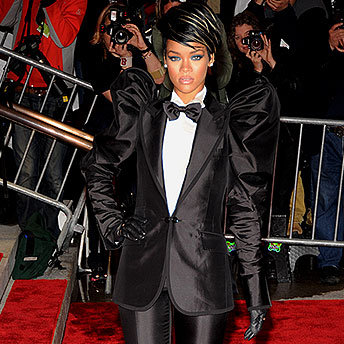 Rihanna at the Costume Institute Gala