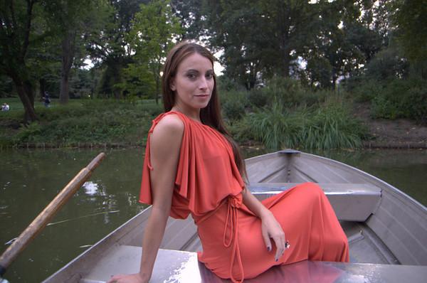 Kristen Colapinto om Boat in Central Park