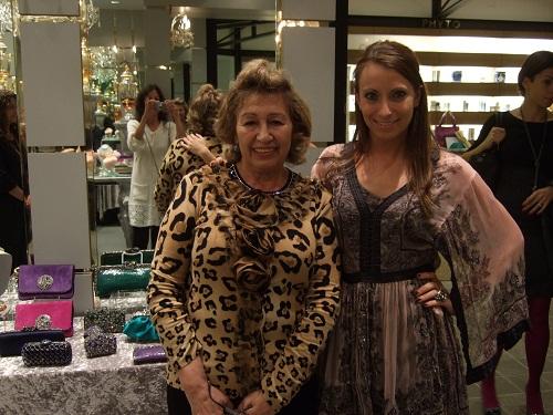 Clara Kasavina and Kristen Colapinto