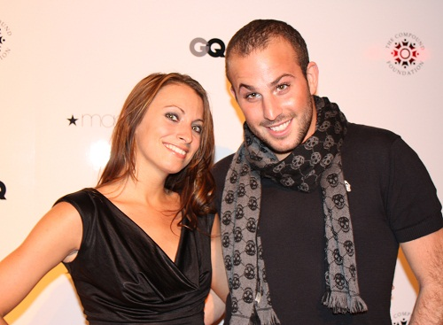 Kristen Colapinto and Micah Jesse at GQ Alfani Party with Ne-Yo