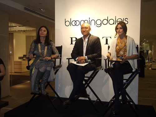 Tia Ciabani, Joe Zee and Olivia Palmero at Ports 1961 Spring 2010 Preview