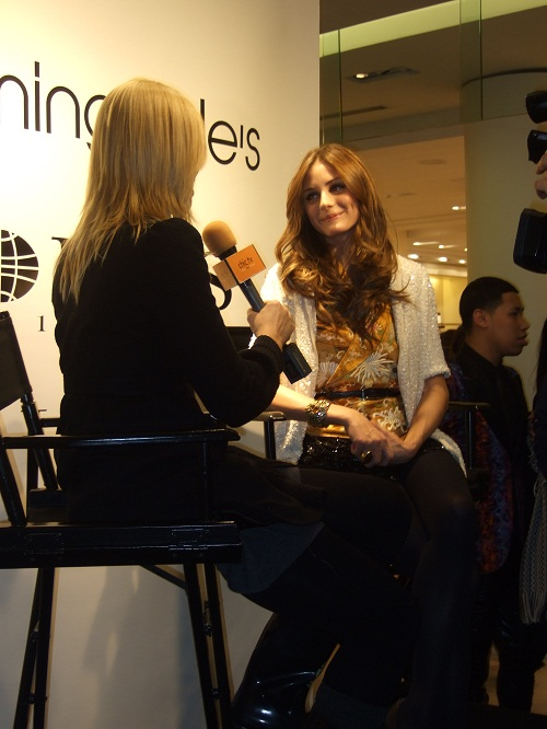 "Olivia Palmero from ""The City"" at Ports 1961 Spring 2010 Preview"
