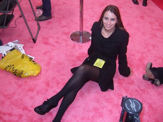 Kristen Colapinto at the Victoria's Secret 2009 Fashion Show.