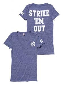 New York Yankees V-Neck for Women