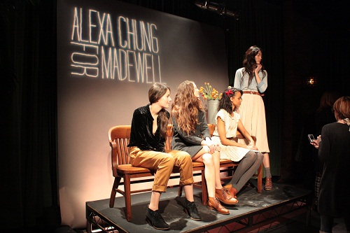 Alexa Chung for Madewell Presentation. Photo Credit: Kristen Colapinto