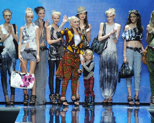 L.A.M.B. Spring 2011 fashion show