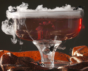 Spooky cocktail recipes for Halloween- Witch's Brew Punch