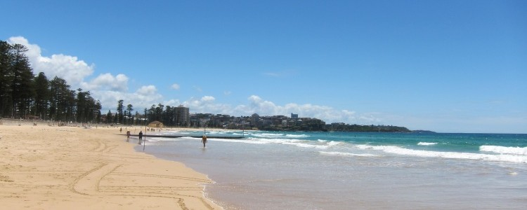 Manly Beach in Australia