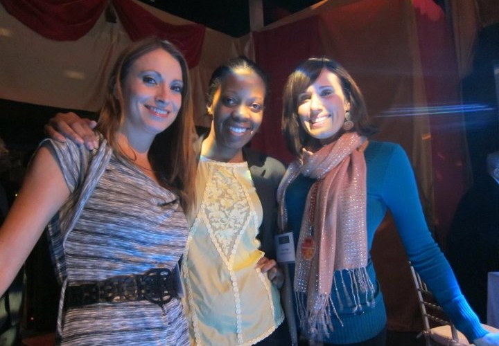 Kristen Colapinto, Lorna Solano and Dana Prigge at Georges Duboeuf 2010 Beaujolais Nouveau Cirque Celebration with Molly Sims
